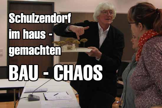Hort Planer Schagemann sieht neue Probleme beim Hort Projekt. (Foto: mwBild)