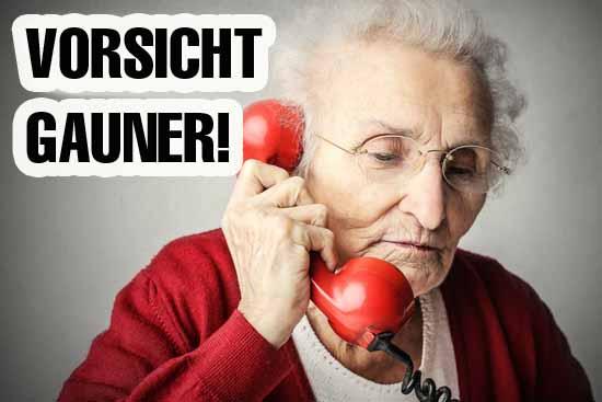 Senioren werden im öfter zur Zielscheibe bei der Telefon - Abzocke. (Symbolfoto)