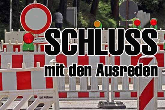Straßensperrung: Ein Wille aber kein Weg?