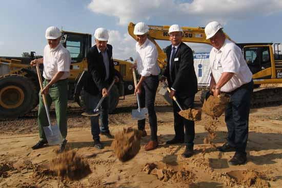 Die Bauarbeiten im Ritterschlag/Ritterfleck haben begonnen. (Foto:mwBild)