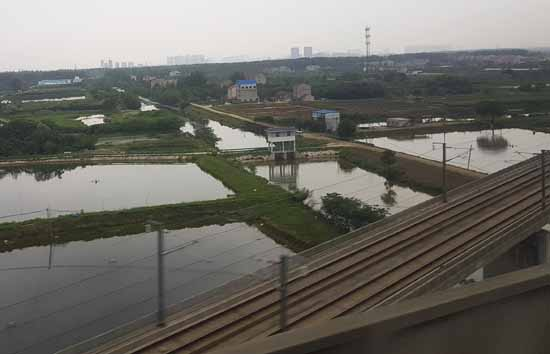 Irgendwo zwischen Peking und Wuhan (Foto: Reif)