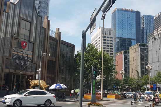 Chengdu - eine moderne Millionenstadt im Zentrum Chinas (Foto: Reif)