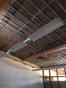 Schwere Baumängel in der Dachkonstruktion der Kita Löwenzahn.