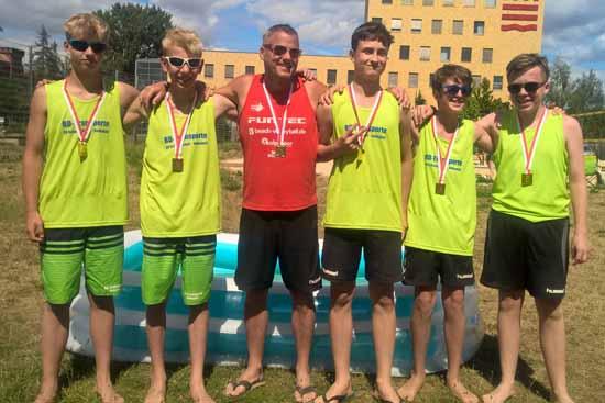 Schulzendorfs Beach Volleyballer glänzen bei Landesmeisterschaften