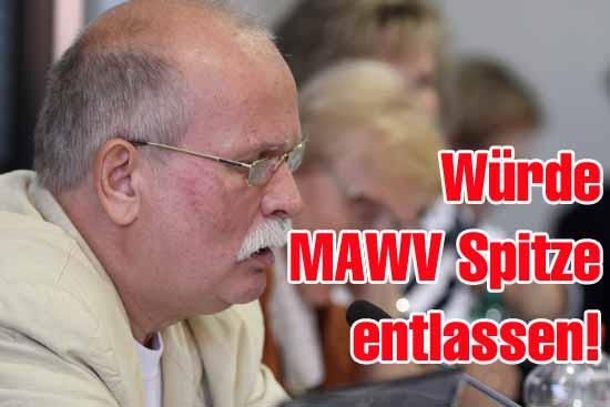 Nahm kein Blatt vor den Mund: Gemeinderat Gernut Franke (Foto: mwBild)