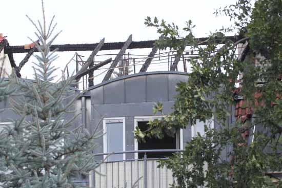 650.000 Euro Schaden – Dachstuhlbrand in Zeuthen