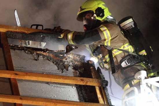 Auf diese Feuerwehr Männer und Frauen können wir bauen.(Foto: mwBild)