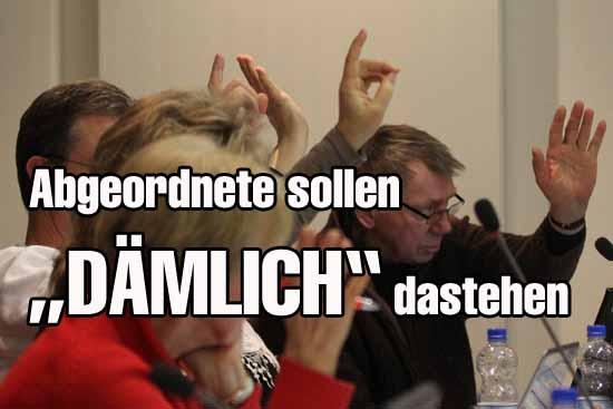 Die Rathaus Niederschriften sorgen für Zündstoff (mwBild)