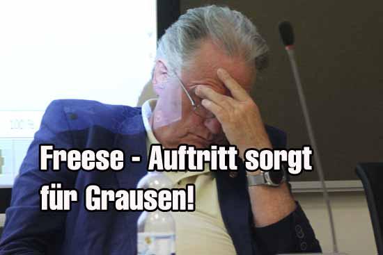 Ortsentwicklungschef Kolberg war vom Freese Auftritt geschockt. (Foto/Archiv: mwBild)