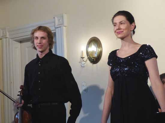 Albrecht Menzel und Magda Amara zu Gast bei den Schlosskonzerten