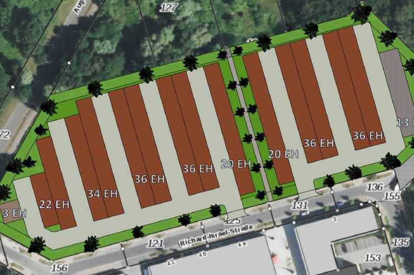 So wird es bald im Ortszentrum aussehen, wenn der Gemeinderat der B – Plan Änderung zustimmt. ( Foto: Präsentation Gemeinde Schulzendorf www. Schulzendorf.de)