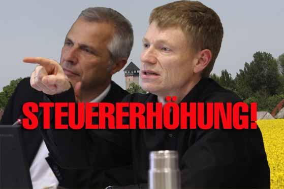 SCHOCK: Bürgermeister Mücke (SPD – nominiert) will Bürger abkassieren