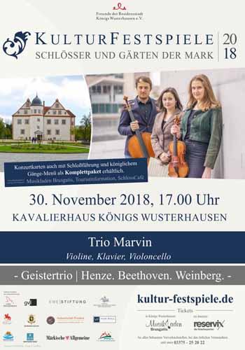 Vorweihnachtliches musikalisches Highlight in Königs Wusterhausen