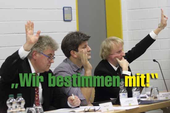 Dialogforum: Sogar Zeuthens SPD trägt Jacobs – Ablehnung mit