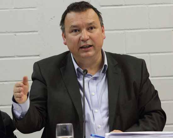 """Sven Herzberger wehrte sich gegen den IGEL - Vorwurf, an einer """"Kultur der Nichtzusammenarbeit"""" beteiligt zu sein. (Foto: mwBild)"""