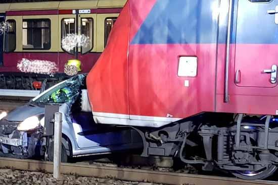 Glück im Unglück: Ernsthaft verletzt wurde bei diesem Unfall niemand. (Foto: Freiwillige Feuerwehr Schulzendorf)