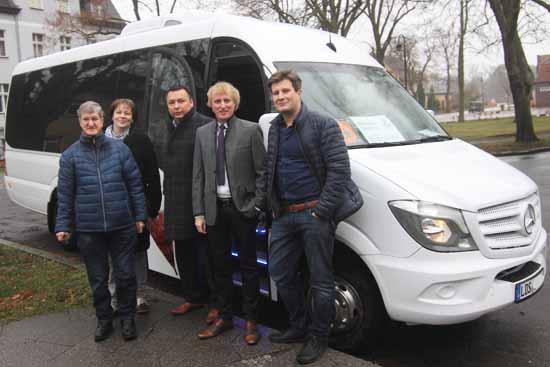 Gemeinde bietet Gratis – Shuttle durch Zeuthen