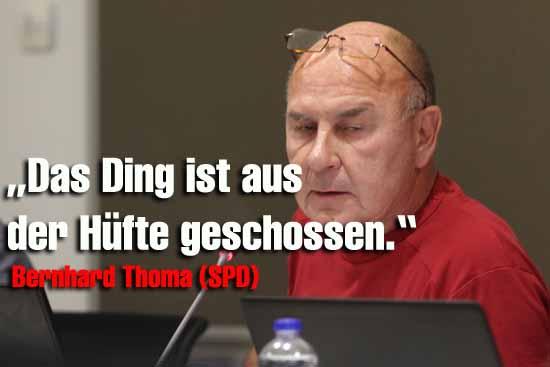 """Mit Sprüchen wie, """"Speiseeis für alle"""" hat der SPD - Politiker für Unverständnis bei Abgeordneten gesorgt. (Foto:mwBild)"""