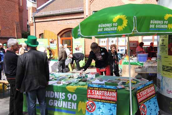 Der bundesweite Höhenflug der Grünen macht auch um Brandenburg keinen Bogen. (Foto: mwBild)