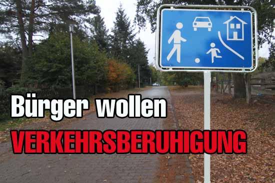 Wie sich das Verkehrstempo drosseln lässt, darüber wollen die Abgeordneten demnächst diskutieren? (Foto: mwBild)