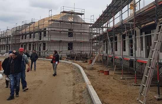 In wenigen Monaten sind diese Häuser bezugsfertig. (Foto:mwBild)