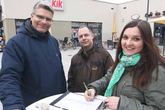 Schulzendorfs Grüne legen mit Wahlkampf los
