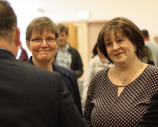 Christine Wehle (li.) und Nadine Selch (Foto: mwBild)