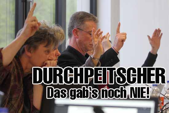 Erstrmal seit 2008 ist im Schulzendorfer Gemeinderat eine Satzung auf diese undemokratische Weise verabschiedet worden. (Foto: mwBild)