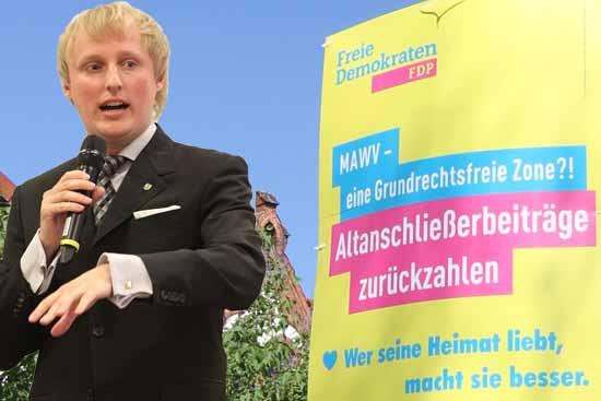 """FDP – Ansage: """"Sekt oder Selters!"""""""