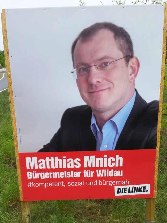 Mnich kandidierte schon zum Landrat und zum Bundestag. Gewählt wurde er nicht. (Foto: mwBild)