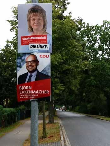 Landtagswahl: Wählerforen in Zeuthen und Eichwalde
