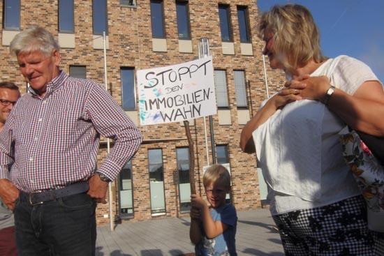 Der jüngste Kundgebungsteilnehmer. (Foto: mwBild)