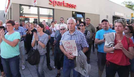 Die Kundgebung verlief völlig friedlich. (Foto: mwBild)