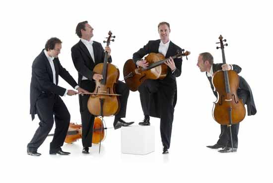 Mit Quattrocelli präsentieren die Schlosskonzerte Königs Wusterhausen ein weiteres Ensemble von Weltrang. (Foto: Ottavio Tomasini).