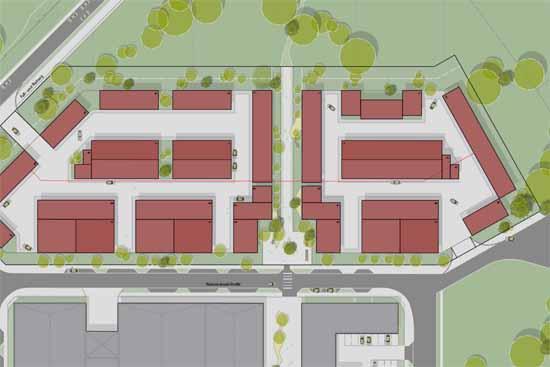 Gewerbepark: Rathaus und Storage 24 gehen auf Werbetour