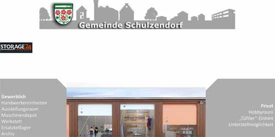 Rathaus und Investor ziehen wohl an einem Strang. (Power Point Präsentation , www.Schulzendorf.de)