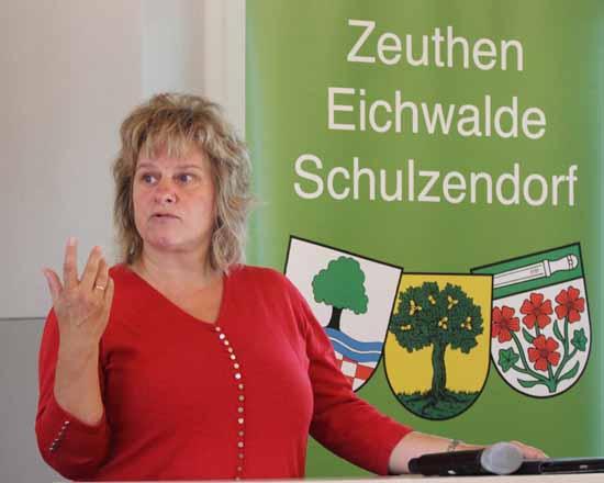 Claudia Mollenschot ist die neue Vorsitzende des Regionalausschusses. (Foto: mwBild)