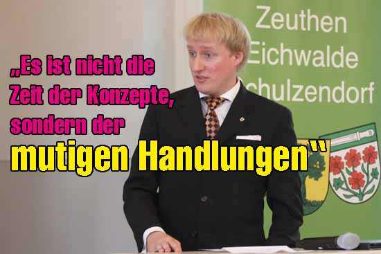 Karl Uwe Fuchs drängt auf Taten. (mwBild)
