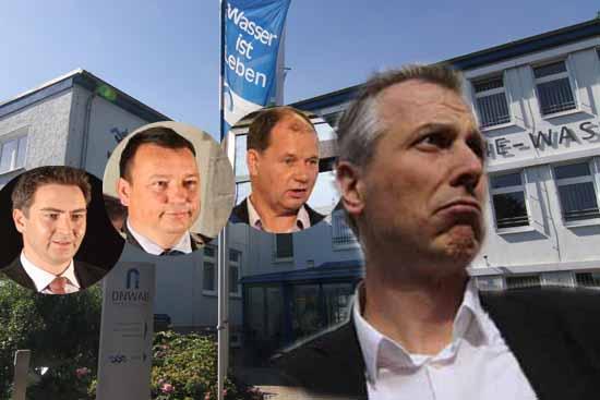 Der Auftritt von Bürgermeister Mücke dürfte nicht folgenlos bleiben. (Bildmontage Bliefert/mwBild)