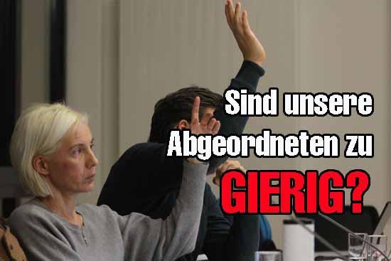 Bürgerbündnis, CDU/FDP und Linke verschweigen in ihrem Diäten Erhöhungsplan die finanziellen Auswirkungen. (Foto: mwBild)