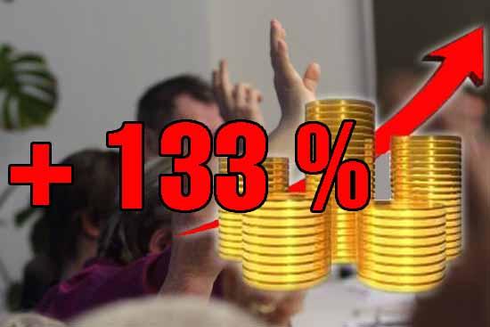 Der Grüne - Diätenplan hätte die Gemeindekasse mit 10.000 Euro weniger belastet. (Bildmontage: Bliefert)