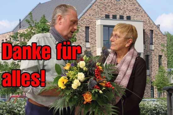 """Ratschef Kolberg über Waltraut Mann: """" Es hat Spass gemacht mit ihr zusammenzuarbeiten."""" (Foto: mwBild)"""