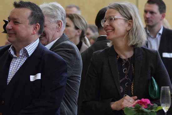 Tina Fischer (re), SPD - Chefin von Dahme - Spreewald (Foto: mwBild)