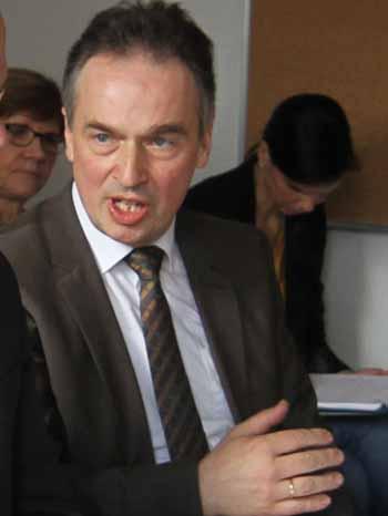 Matthias Deller, Pressesprecher des Amtsgerichts Königs Wusterhausen. (Foto:mwBild)