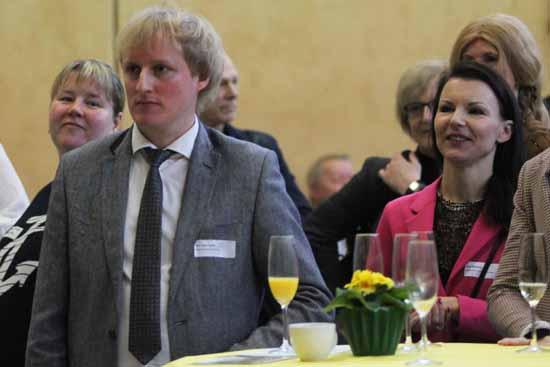 Karl Uwe Fuchs und Jana Schimke (Foto: mwBild)