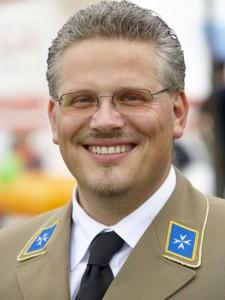 Johanniter Vorstand Matthias Rudolf.