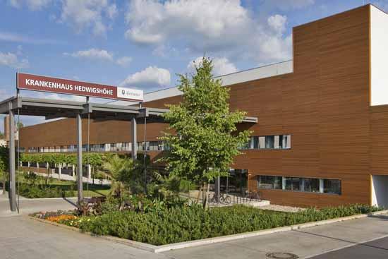 Krankenhaus Hedwigshöhe in Berlin - Bohnsdorf (Foto: Roland Horn)