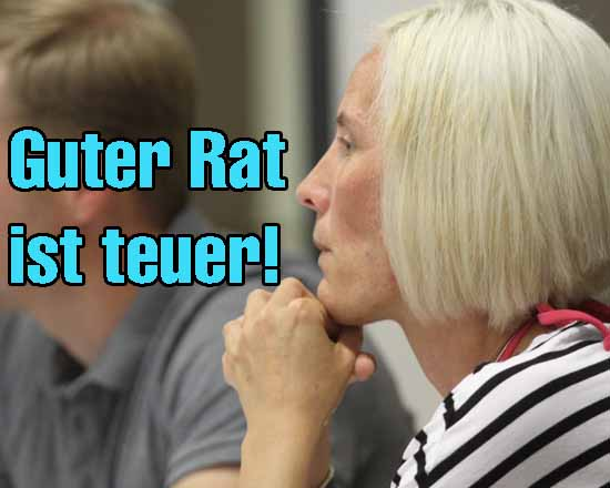 Fraktionschefin Ramona Brühl , am Ende des Lateins? (Foto: mwBild)