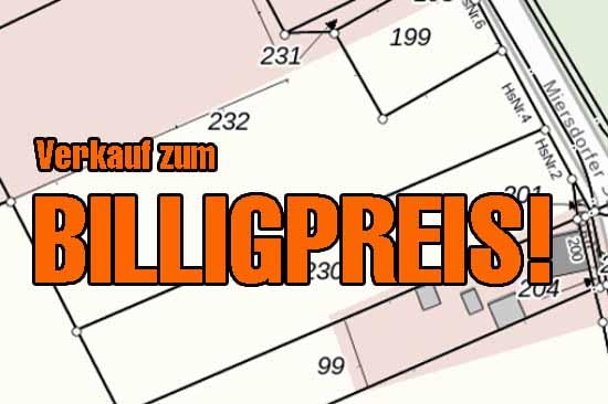 Schnäppchen: Landkreis zahlt nur 92 €/m² für Bauland