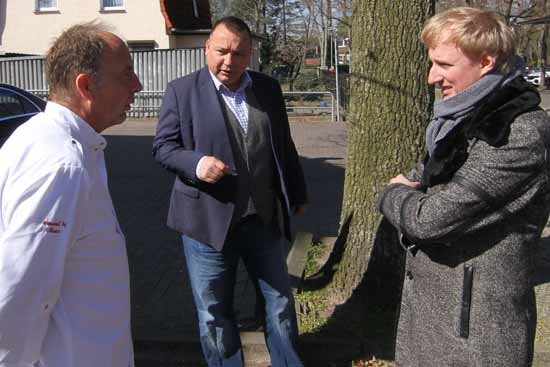 Die 3 MACHER: Jörg Kriminski, Sven Herzberger, Karl Uwe Fuchs (v.l. Foto: mwBild)